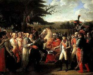 Наполеон принимает ключи от Вены — Жан Огюст Доминик Энгр