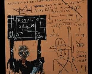 Туземец с оружием, Библии, Амориты на сафари — Жан-Мишель Баския