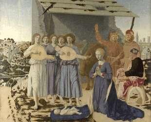 Рождество — Пьеро делла Франческа