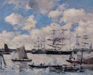 Near Rotterdam — Эжен Буден