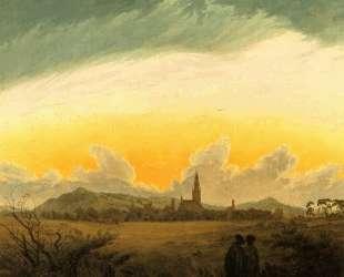Neubrandenburg — Каспар Давид Фридрих