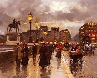 New Bridge, Paris — Эдуард Кортес