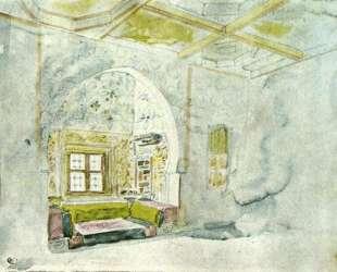 Ниша во дворце султана в Мекнесе — Эжен Делакруа