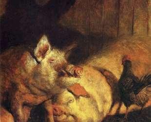 Night Pigs — Джейми Уайет