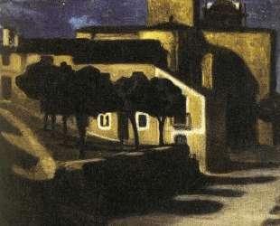 Night Scene in Avila — Диего Ривера