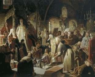 Спор о вере — Василий Перов