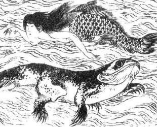 Ningyo — Кацусика Хокусай