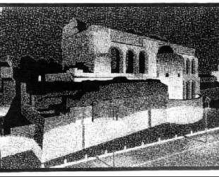 Nocturnal Rome, Basilica of Constantine — Мауриц Корнелис Эшер