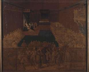 Номинация папы Урбана VIII Барберини, Таддео — Жан Огюст Доминик Энгр