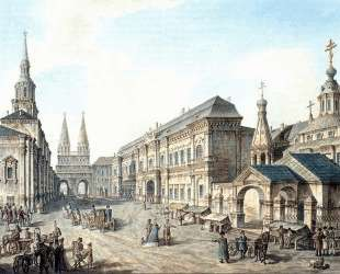 North side of Red Square — Фёдор Алексеев