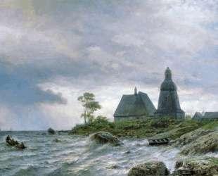 Northern landscape — Лев Лагорио