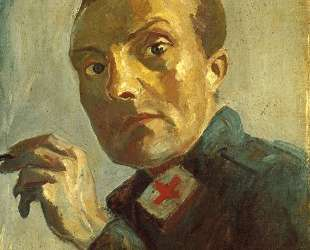 Self-Portrait as a Nurse — Макс Бекман