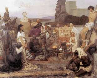 Saints Timothy and Maura — Генрих Семирадский