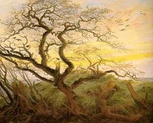 The Tree of Crows — Каспар Давид Фридрих