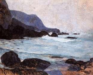 The Coast of Bellangenay — Поль Гоген