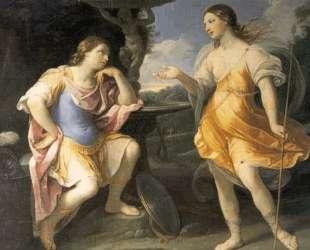 Encounter of Bradamante and Fiordispina — Гвидо Рени