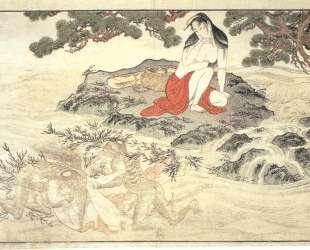 Awabi divers — Китагава Утамаро