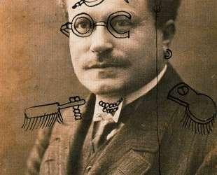 Postcard to Erwin Blummenfeld — Георг Гросс