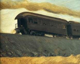 Railroad Train — Эдвард Хоппер
