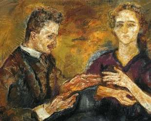 Hans Tietze and Erica Tietze-Conrat — Оскар Кокошка