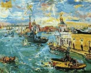 Venice Dogana — Оскар Кокошка