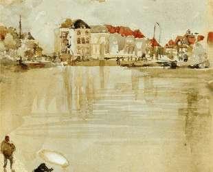 Note in Gold and Silver — Dordrecht — Джеймс Эббот Макнил Уистлер