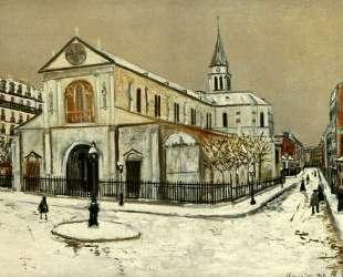 Notre-Dame de Clignantcourt — Морис Утрилло