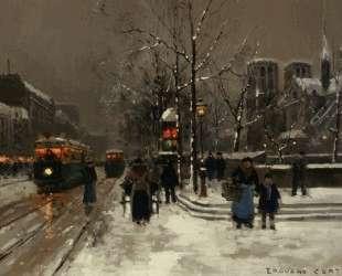 Notre Dame Paris — Эдуард Кортес