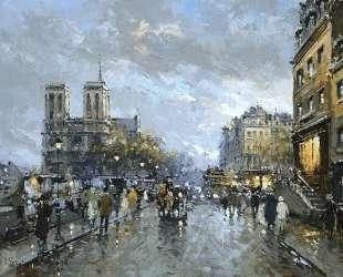 Notre Dame Quai Saint Michel — Антуан Бланшар