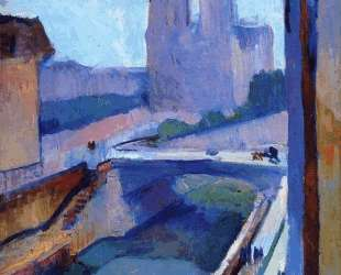 A Glimpse of Notre-Dame in the Late Afternoon — Анри Матисс