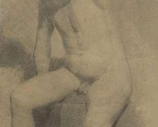 Nude Man Seated — Томас Икинс