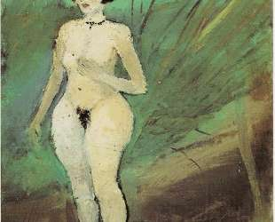 Nude of woman — Антонио Лигабуэ