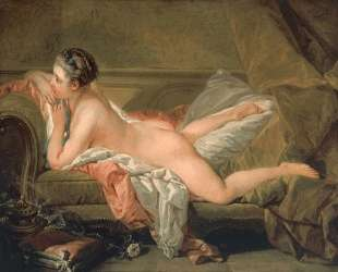 Портрет Мари-Луизы О'Мерфи (Обнаженная на кушетке) — Франсуа Буше