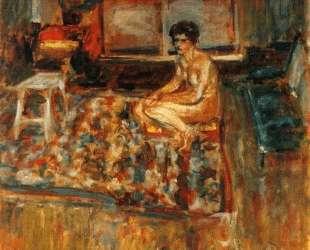 Nude on an Orange Rug — Эдуар Вюйар