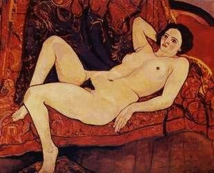 Nude on the sofa — Сюзанна Валадон