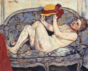 Nude Reclining on a Sofa — Сюзанна Валадон