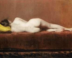 Nude Recumbent — Уильям Меррит Чейз