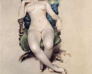Nude Resting — Уильям Меррит Чейз