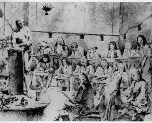 Nude study in an academy — Джованни Баттиста Тьеполо