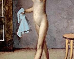 Nude with a Silk Scarf — Бальтюс