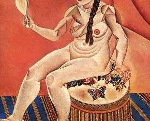 Nude with Mirror — Жоан Миро