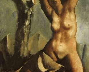 Nude with tree — Марио Сирони