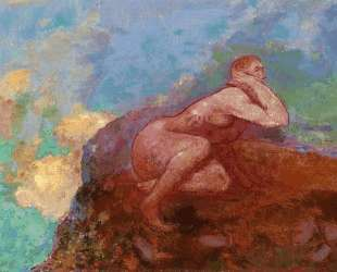 Nude Woman on the Rocks. jpeg — Одилон Редон