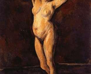Nude Woman Standing — Поль Сезанн
