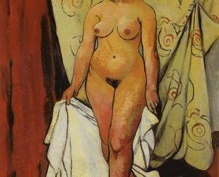 Nude Woman with Drapery — Сюзанна Валадон