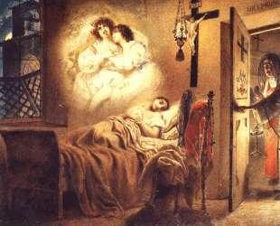 Сон монашенки — Карл Брюллов