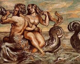 Нимфы с Тритоном — Джорджо де Кирико