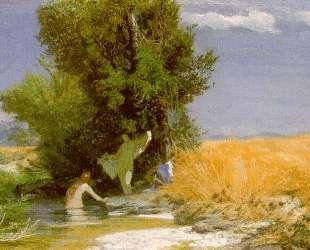 Nymphs bathing — Арнольд Бёклин