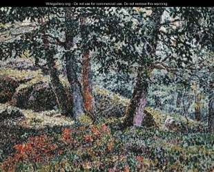 Oaks and Blueberry Bushes — Жорж Лякомб