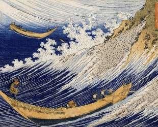 Ocean waves — Кацусика Хокусай